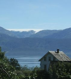 Folgefonna Glacier and the Hardangerfjord in Norway. www.hardangerfjord.com. Photo by Hege Hisdal.