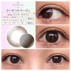 Korean Makeup Brands, Tips Belleza, Round Sunglasses, Lenses, Beautiful, Color, Asian, Make Up, Round Frame Sunglasses