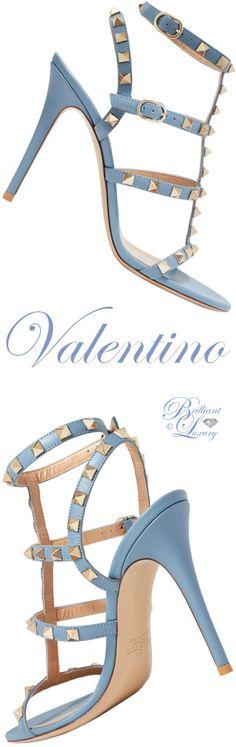 Brilliant Luxury ♦ Valentino Garavani Rockstud leather sandal