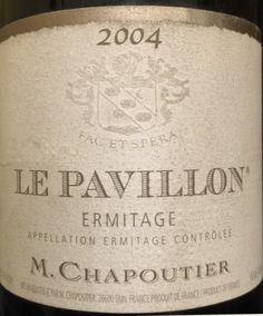 2004 M. Chapoutier Ermitage Le Pavillon