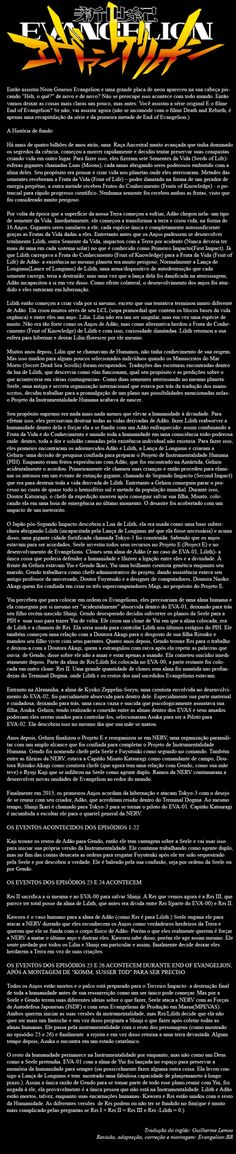 Explicação de Neon Genesis Evangelion