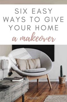 Is your home in need of a makeover?  Give it a new lease of life with these six easy, low-cost ways to revive your home. #interiors #growingfamily Living Room Inspiration, Kitchen Inspiration, Interior Inspiration, Toilet And Sink Unit, Hallway Flooring, Cupboard Handles, New Beds, Jar Storage, Corner Sofa