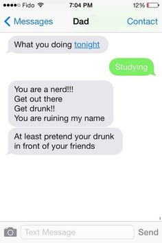 This dad who still cares about his rep... | 29 Parents Who Are Clearly Way Better At Texting Than Their Kids