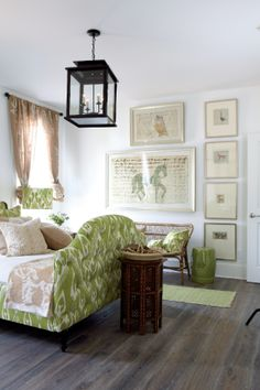 The Charm and Character of this Home does not go Unseen. The Interior and exterior of the home has been decorated by Ballard Design . Southern Style Homes, Headboard With Lights, Dream Bedroom, Master Bedroom, Ballard Designs, Blank Walls, Interior Design Inspiration, Bedroom Inspiration, Design Ideas