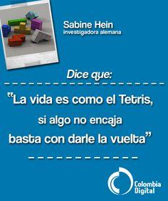 Nuestra frase del día por Sabine Hein