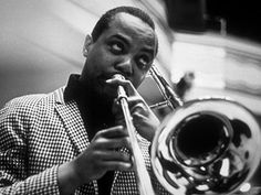Famous Jazz musician J.J. Johnson considered by many to be the finest jazz trombonist of all time! Jazz Artists, Jazz Musicians, Blues Artists, Trombone, Music Love, My Music, Music Stuff, Louis Johnson, Milt Jackson
