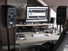 cheap diy ikea home studio desk | studio desk, desks and studio