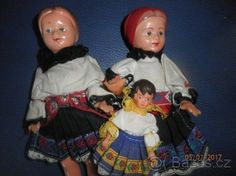 retro panenky v kroji - 1