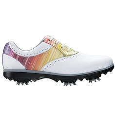 4eec3a27ae90 FootJoy Emerge Golf Shoes 2016 Ladies White Rainbow Medium 9 -- Check out  the