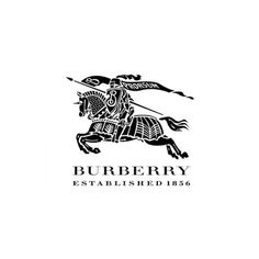 The current Burberry logo was released on Aug 2018 and designed by English art director and graphic designer Peter Saville. Burberry is a British luxury Burberry Prorsum, Burberry Brit, Burberry Plaid, Famous Clothing Brands, Luxury Clothing Brands, Burberry Logo, Logo Quiz, Fossil, Versace