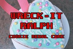 Wreck-It Ralph Cookie Medal Cake Recipe   thedisneydiner.com