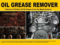 Oil Grease Remover RXSOL-15-2001-NO is a blended mixture with glycol and fatty amines emulsifier as main component along with powerful penetrating agent corrosion inhibitor and surfactants. It should be re-circulated in inserted tank. Click Link ::: http://dubichem.com/oil-grease-remover