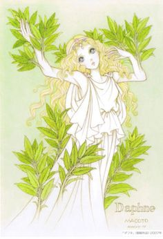 Daphne is one of my favorite mythological characters.