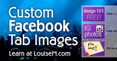 How to Create Custom Tab Images for your Facebook Fan Page