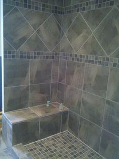 tile showers bing images