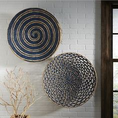 woven wall art from Country Door