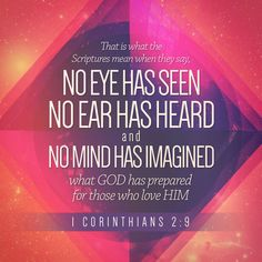 Verse of the Day 1 Corinthians 2:9 23:07:17