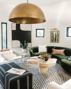 Shot amazing living room yesterday and cannot wait for the professional photos! Loved working on this room. Eclectic Living Room, Chic Living Room, Rugs In Living Room, Living Room Interior, Home And Living, Living Room Designs, Living Room Decor, Bedroom Decor, Home Office