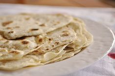 Homemade Flour Tortillas Crepes, How To Make Flour, Homemade Flour Tortillas, Making Tortillas, Fresh Tortillas, Cooking Tips, Cooking Recipes, Cooking Food, Good Food