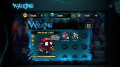 ArtStation - 行尸走肉The Walking dead Game Ui design, Ben Will