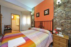 Habitación doble con cama de matrimonio de 150.