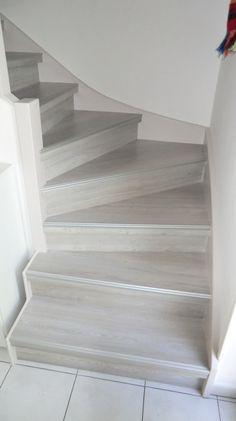 Rénovation d'un escalier bois