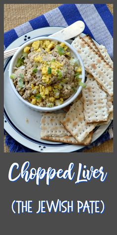 Chopped Liver, a standard Jewish appetizer or often made into a sandwich, is kind of like a rustic chicken liver pate. Don't knock it until you've tried it! Pate Recipes, Liver Recipes, Healthy Recipes, Chicken Liver Pate, Chicken Livers, Donuts, Liver Pate Recipe, Mousse, A Food
