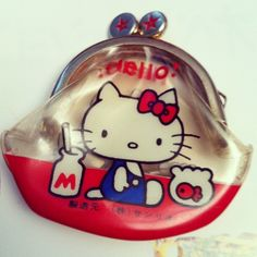 The original Hello Kitty coin purse from 1974!