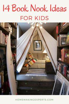 Indoor tipi - best reading nook ever? Reading Tent, Reading At Home, Reading Nooks, Kids Reading, Reading Areas, Indoor Forts, Indoor Camping, Camping Indoors, Indoor Tent For Kids