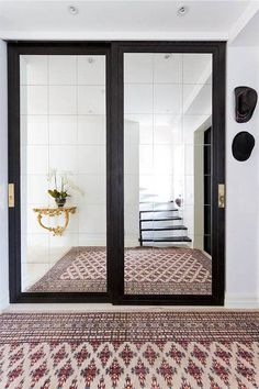 OUR CLIENTS WORK, Private home in Duvbo / Stockholm with our sliding door handle. http://bb-sweden.se/?lang=en#sliding-door-handles