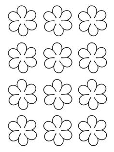 Free Coconut Template Or Printable - Yahoo Search Results Yahoo Image Search Results Share these cute flowers today with your classmates, friends and family! Customize these flowers anyway you can with free printable templates. Paper Flowers Diy, Felt Flowers, Flower Crafts, Fabric Flowers, Paper Butterflies, Felt Crafts, Diy And Crafts, Crafts For Kids, Paper Crafts