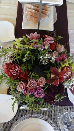 Valentine's Flower Wreath