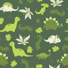 lauraillustrates.tumblr.com: Free dinosaur pattern for use!
