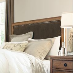 Pennsylvania House Alfresco Panel Headboard $570.99... also full bed frame at furnitureland south in NC