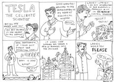 Kate Beaton looks at Tesla and the ladies.