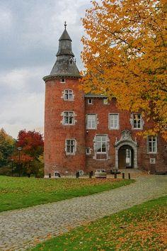 Belgium, Charleroi, Castle