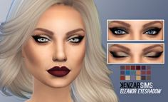 Eleanor eyeshadow at Kenzar Sims • Sims 4 Updates