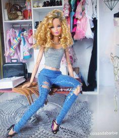 40.16.3  by coisasdabarbie Barbie Life, Barbie World, Barbie And Ken, Barbie Barbie, Barbie Tumblr, Original Barbie Doll, Barbies Pics, Doll Clothes Barbie, Poppy Parker