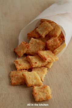 Crackers au fromage