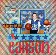 Carson's Basketball page - Scrapbook.com