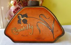 """""""Ides to September"""" by Nancy on Etsy Vintage Makeup, Vintage Vanity, Vintage Tins, Vintage Beauty, Advertising Ads, Vintage Advertisements, Art Nouveau, Tin Art, Tin Containers"""