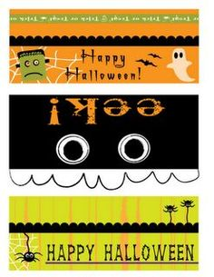 Halloween freebie: bag toppers