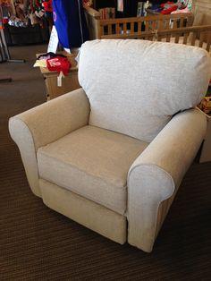 Best Chairs - Irvington Swivel Recliner in Graphite Stock