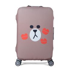 Luggage Cover Adventure Awaits Boat Lake Camping Protective Travel Trunk Case Elastic Luggage Suitcase Protector Cover