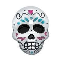 SUGAR SKULL Celebrate life with this Sugar Skull Charm. Add this Dia de los Muertos symbol to your Living Locket® to celebrate the beautiful spirit of lost loved ones. Include the Silver Familia Heart Charm to complete the statement. #sugarskull, #dayofthedead, #origamiowl, #charms, www.locketsbylala.origamiowl.com