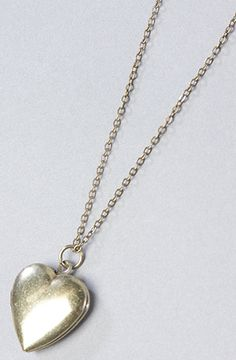 The Boho Heart Locket Necklace by Soho Collection