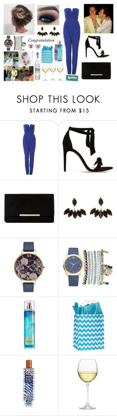 """""""Pixie Geldof's wedding with Harry"""" by louisericoul ❤ liked on Polyvore featuring TFNC, Alexandre Birman, Dune, Olivia Burton, Mixit, Nordstrom and Belvedere"""