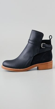 Yes, ANOTHER pair of black ankle boots.
