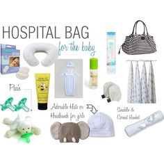 Hospital Bag for the Baby | What to pack in your hospital bag for delivery #pregnancy #whattopack #hospitalbag