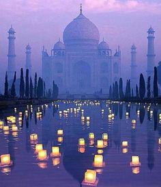 The Taj Mahal India   Photo by:...